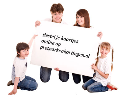 Bestel pretpark kaartjes online